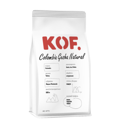 Кофе зерновой Colombia Gesha Natural оптом