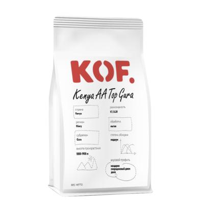 Кофе зерновой Kenya AA Top Gura оптом